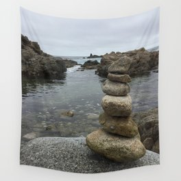 Stacking Stones Wall Tapestry