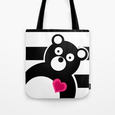 Curiosity killed the Bear Tote Bag