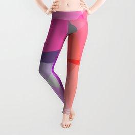 Pinkish Squares Leggings