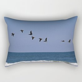 Follow the Leader Rectangular Pillow