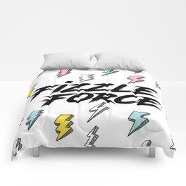 Fizzle Force Lightning Bolt Comforters