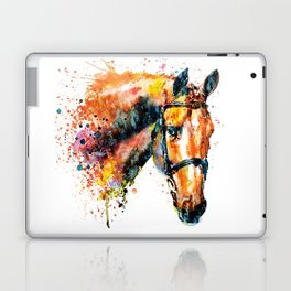 Colorful Horse Head Laptop & iPad Skin
