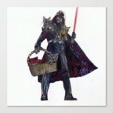 Cat Dad Vader Canvas Print
