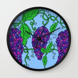 Chaotic Vines Wall Clock