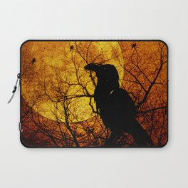 Harvest Moon Raven Laptop Sleeve