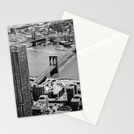 Brooklyn Bridge View - New York City Stationery Cards