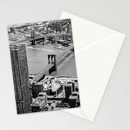 Brooklyn Bridge View - New York City Stationery Cards