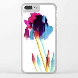 Glitches Iris Clear iPhone Case