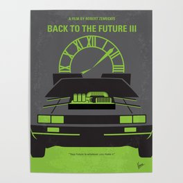 No183 My Back to the Future 3 mmp Poster