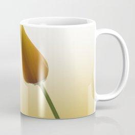 Portrait of a California Poppy no 1 Coffee Mug