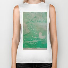 MoonSea Fantasy lightgreen Biker Tank