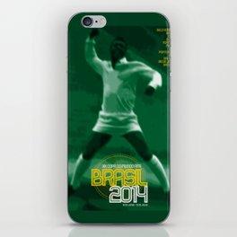 World Cup: Brazil 2014 iPhone Skin