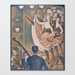 Le Chahut (High Resolution) Canvas Print