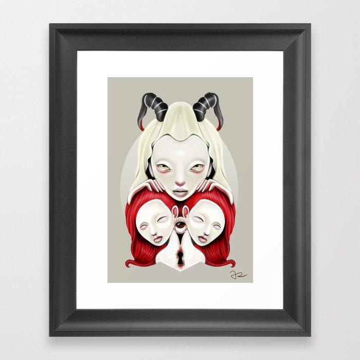 Mitosis Framed Art Print
