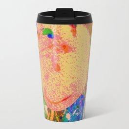 Mushrooms and Mulch Abstract Travel Mug