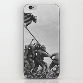 Iwo Jima Flag World War 2 Vintage iPhone Skin