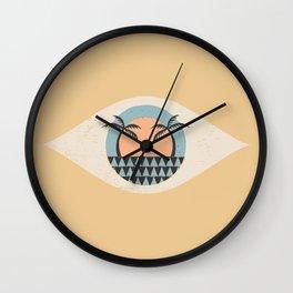 SUNNY DAYS AHEAD Wall Clock