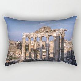 Roman Ruins - Vintage photography Rectangular Pillow