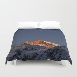 Crystal Mountain Duvet Cover