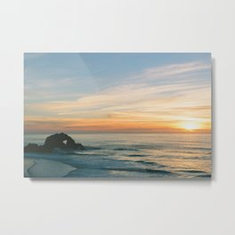 Sutro Baths, San Francisco. Metal Print