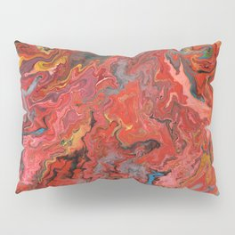 Abstract Oil Painting 5 Pillow Sham