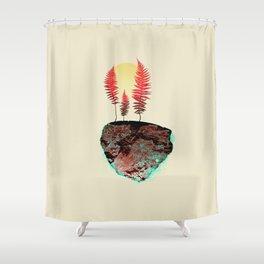 Autumn Anthem Shower Curtain