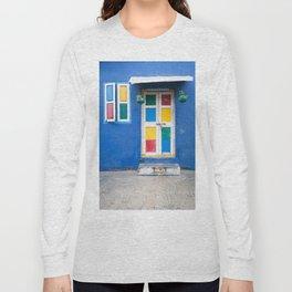 Colorful Indian Door Long Sleeve T-shirt