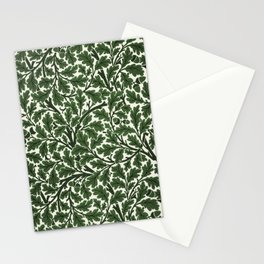 Green Oak Tree by John Henry Dearle for William Morris Stationery Cards