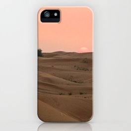 Arabian Desert Sunset iPhone Case