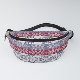 ethnic african stipes patern Fanny Pack