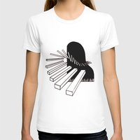 piano T-shirts featuring Piano by PSimages