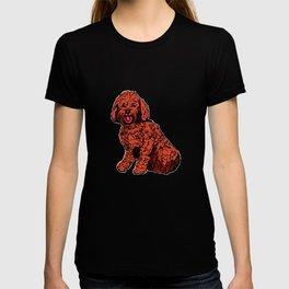 Labradoodle Illustration T-shirt