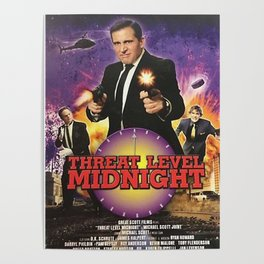 Geng Threat Level Midnight Poster