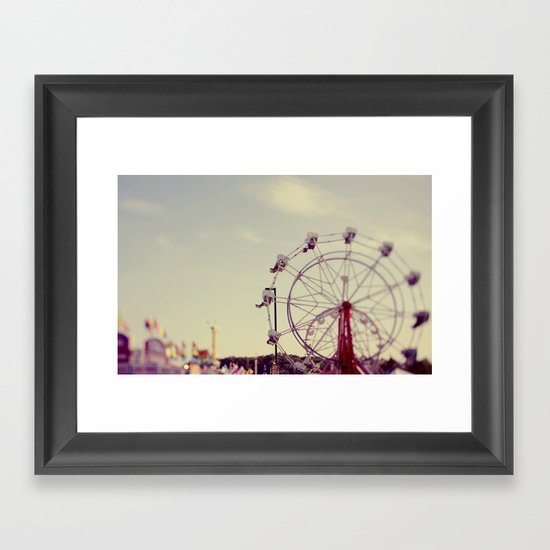 Cotton Candy Daydreams Framed Art Print