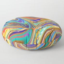 Abstract Granite & Marble / GFTMarble153 Floor Pillow