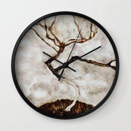 "Egon Schiele ""Small Tree in Late Autumn"" Wall Clock"