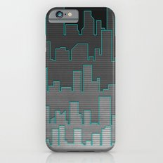 The Turquoise Outline iPhone 6s Slim Case