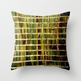 70's Subway Throw Pillow