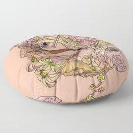 Hidden Beauty Floor Pillow