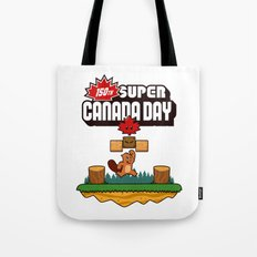 Super Canada Day 150 Tote Bag