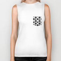 polka Biker Tanks featuring polka by spinL