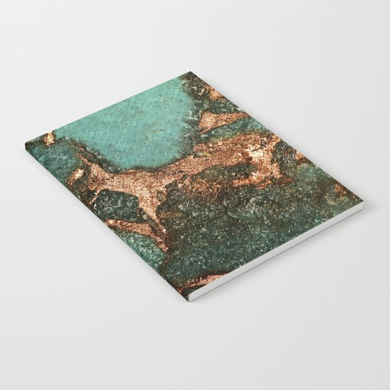 EMERALD AND GOLD  Notebook
