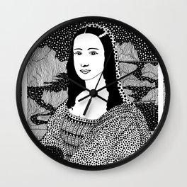 Gioconda. Mona Lisa. Leonardo Da Vinci. 1503 Wall Clock