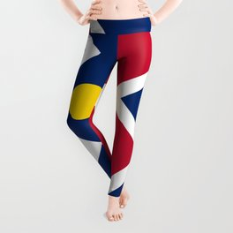 Denver City Flag Leggings