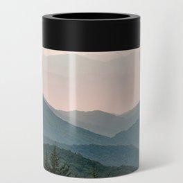 Smoky Mountain Pastel Sunset Can Cooler