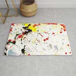 Paint Splatter Rug