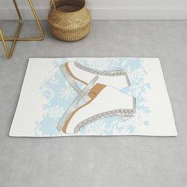 Ice skates Rug
