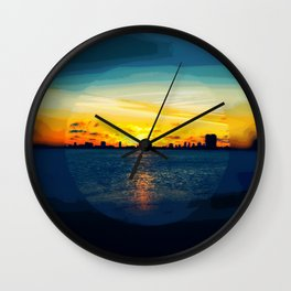 Time For Breakfast Wall Clock