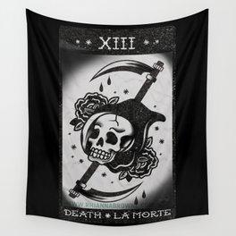 Death - La Morte - Tarot Card Wall Tapestry