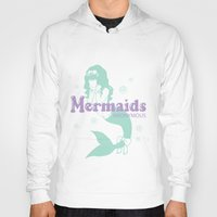 mermaids Hoodies featuring Mermaids Anonymous by aoiskye